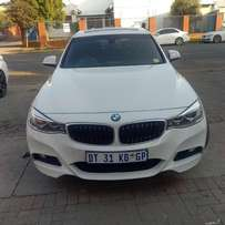 2015 BMW 320i GT Auto, sunroof in good condition for R280,000.00