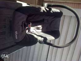 chariot bounce baby car seat