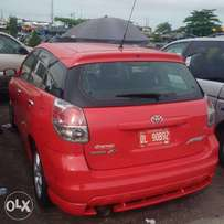 Toyota Matrix 2006. Direct tokunbo
