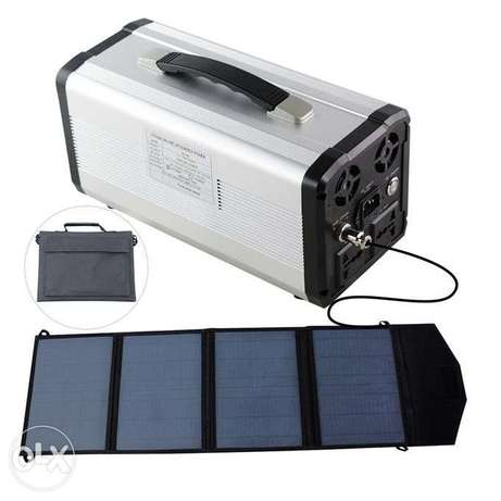 power Inverter UPS Solar Rechargeable Battery - 750w