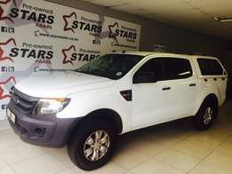 2013 Ford Ranger XL 2.2 D-Cab With A Canopy Only R254950