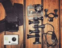 GoPro HD 960 with accessories