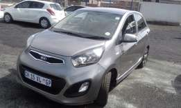 Kia Pincanto 1.0 Model 2014 Colour Grey 5Door Factory A/C & CD Player