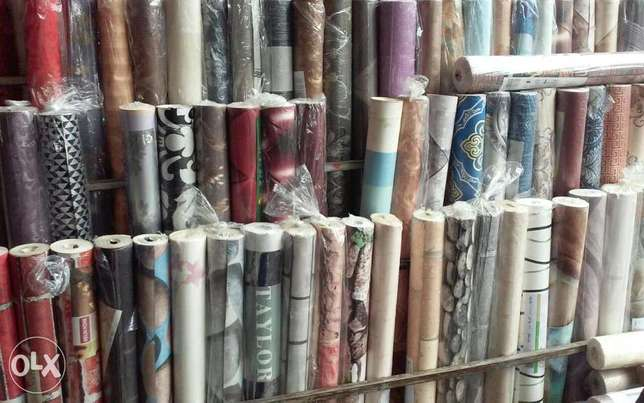 Sells and installation of wallpaper with 3D panels Lagos Mainland - image 6