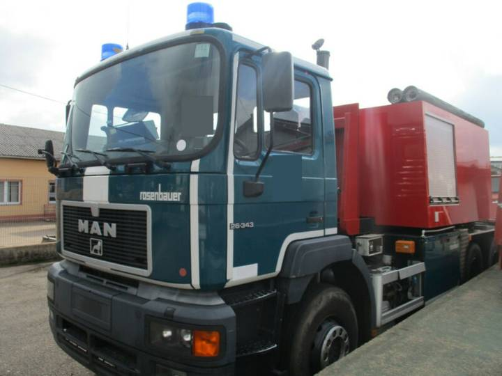 MAN 26.343 Anloger Tacho  Feuerwehr WLF - 2000