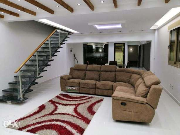 Villa for rent in Maadi, furnished in a modern style