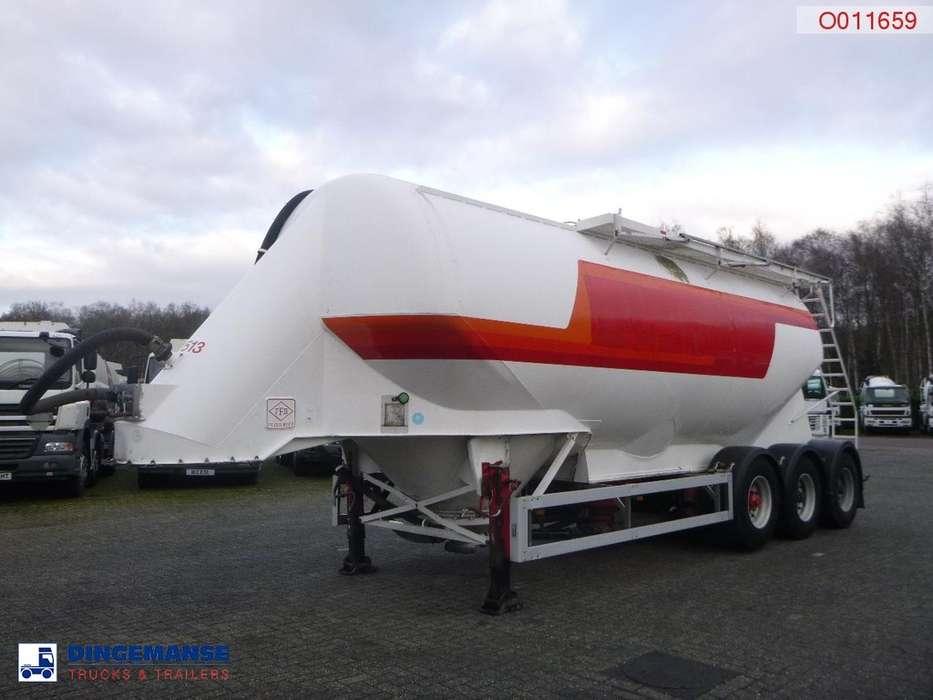 Feldbinder Bulk tank alu 38 m3 / 1 comp - 2001