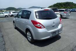 Nissan Tiida Hatchback 2011 KCP Newshape Fully Loaded Ready For import
