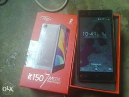 Itel (1507)+16Gb For sale or swap with carton/Red pack with charger