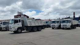 UD 370 tippers (2012 Modle) 5 Units Available