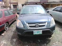 Clean First body Honda CRV 2004 model