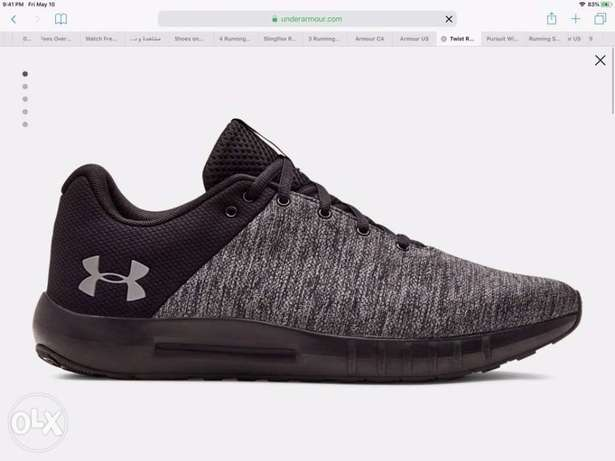 underarmour running shoes size 13 US