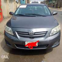 Sweet register 08 Toyota corolla for quick sales