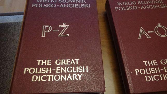 Wielki Słownik Polsko Angielski 2 Tomy Zamienię Na Kuchnie