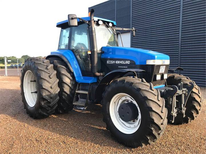 New Holland 8770a - 2002