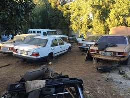 Mercedes Benz Stripping For Spares 123,124,126