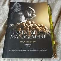 Textbook for sale: Investment Management 4th edition