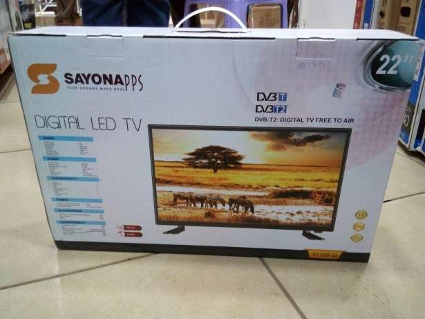 Brand new 22 inch Sayona digital TV Eldoret North - image 1