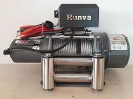 RUNVA EWK5000 LBS 12V electric cable winch