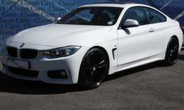 2015 BMW 420i M-Sport Coupe A/T