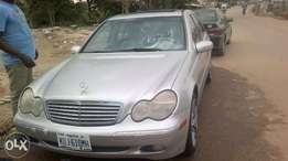 Correct sound and strong Mercedes C240 Nigerian used 200Model
