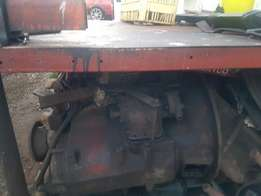 spares Leyland complete hubreduction diff with Springs and 6speed gbox