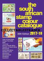 The South African Stamp Colour Catalogue 35th edition 2017/18 NOW AVAI