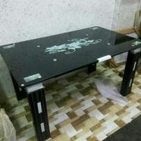Black dining table top by6