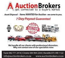 Auctions are held on a regular basis at our different auction venues