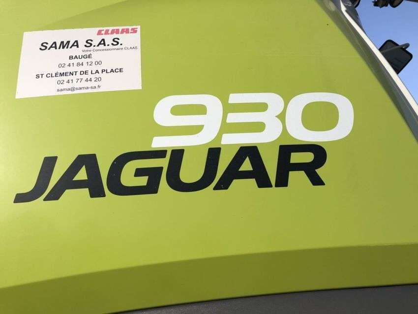Claas Jaguar 930 - 2012