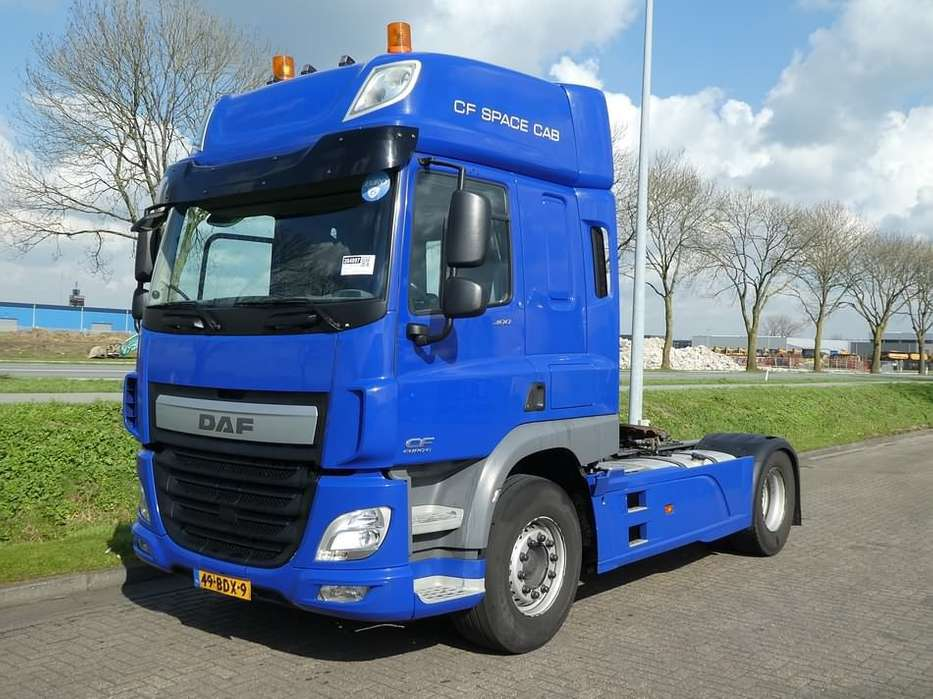DAF CF 400 pto 9t front axle - 2014
