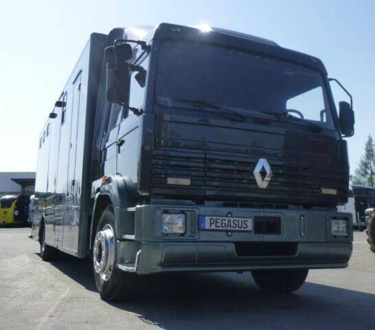 Renault G280 18 8/9 Pferdetransporter 18to SK - 1993