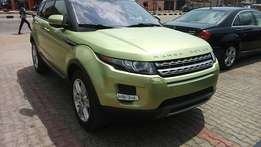 Foreign used Range Rover  Evogue(2012)