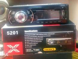 Car radio with USB/mp3/ aux/ Free delivery within Nairobi cbd.