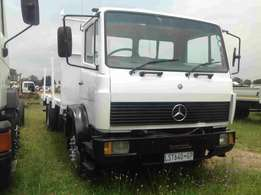 Mercedes benz 1414 ADE 366T flatdeck on special