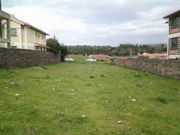 1/4 Acre vacant plot touching Sigor road for sale in Kiamunyi - Nakuru