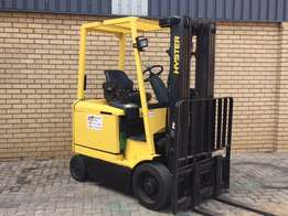 Forklift- Hyster 2.0 ton Electric - J1 NEW BATTERY