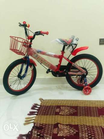 Brand New kids cycle with basket and bottle 18""