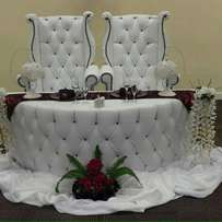 His and Hers Chairs for hire
