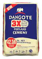 Dangote 3x cement for supply to all locations and states in nigeria