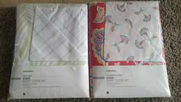 Brand new Duvet cover sets in King Queen and Double