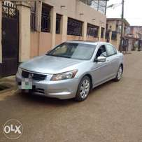 A clean and sound 2008 honda accord