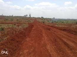 Limited offer-1/4 acre Kiambu plots