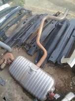 Good condition Genuine clean complete Audi TT exhaust pipe for sale