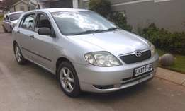 toyota runx 1.4rt for sale accident free R55,000