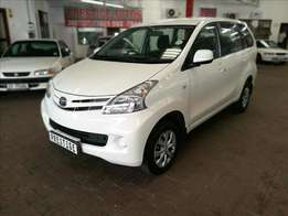 2012 Toyota Avanza 1.5SX AUTOMATIC, Only 83000kms