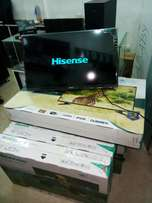 32 inches LED hisense flat tv