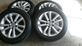 Polo vivo mags and tyres