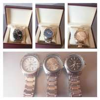 Brand New Gold and Silver Seiko Japan Men Watches