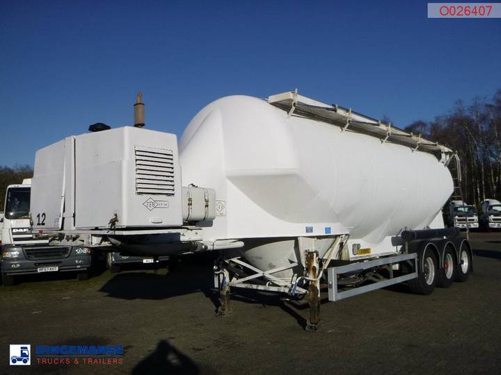 Feldbinder Bulk tank alu 40 m3 + compressor - 2003